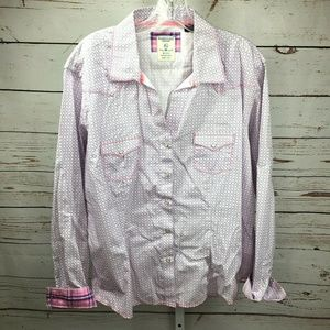 Panhandle Snap Front Western Shirt Size XL